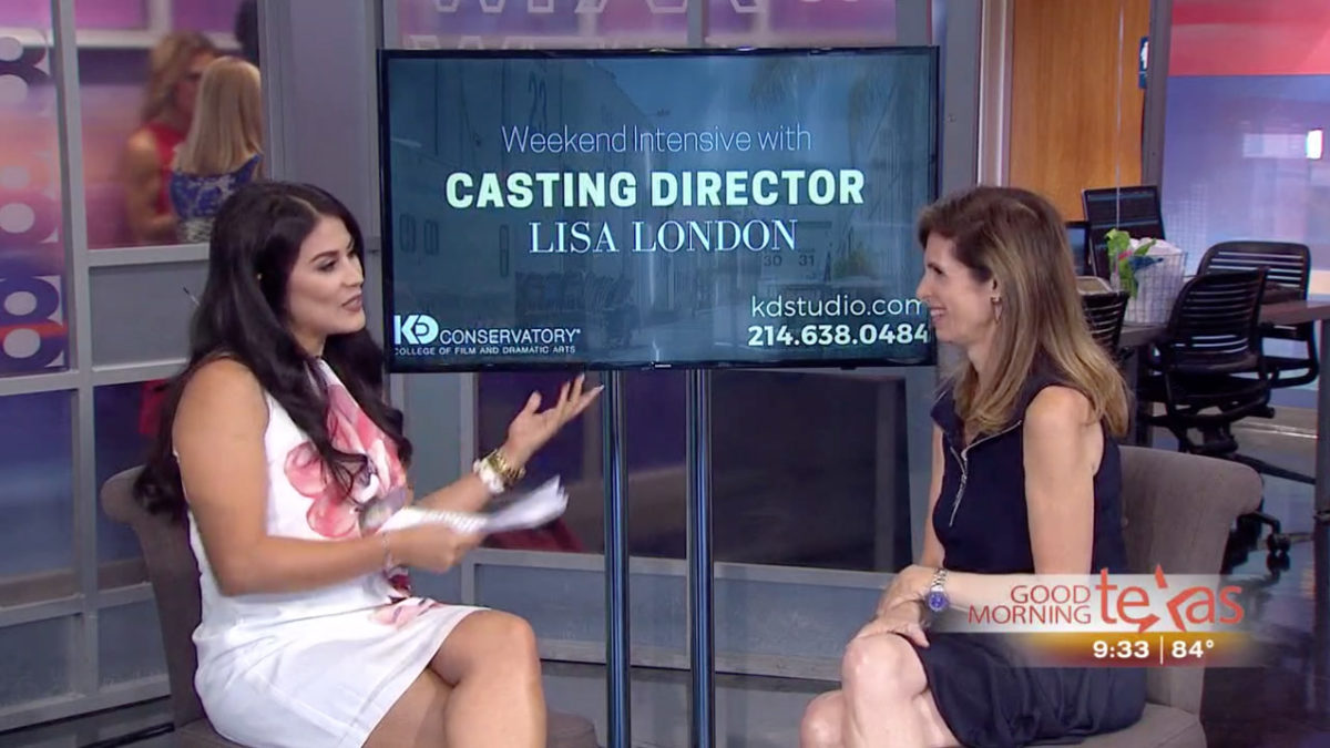 Lisa London on Good Morning Texas